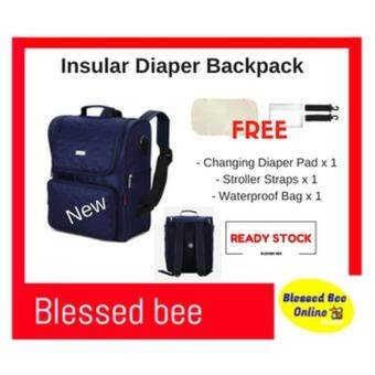 Insular Waterproof Nylon Baby Diaper Backpack Large Capacity Mommy Stroller Bag ?New Arrived?