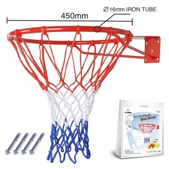 Jay's 8345 standard basketball hoop iron basketball ring basketball rack diameter 45 cm