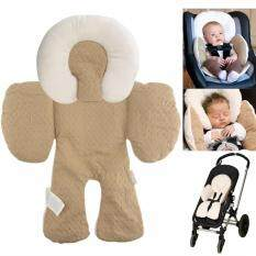 JJ Cole Head Body Support Baby Car Seat Pillow Stroller Khaki Malaysia
