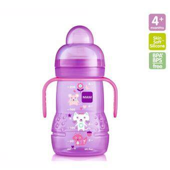 Harga MAM Trainer Bottle 220ml (Pink)