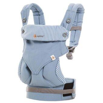 Harga Manufacturers Ergo-baby Back with Four Style 360 Baby Baby Sling Cotton Multifunction Baby Carrier Air Section(Light Blue)