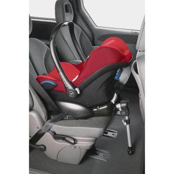 Maxi Cosi Infant Carrier Cabriofix RED ROBIN - 0-13KG - Infant Baby suitable car seat (Made in Holland) - Compatible with Quinny Zapp Xtra Stroller - BUILT IN Adapters for QUINNY strollers - 2017 NEW ARRIVAL - MAXICOSI/ MAXI-COSI - 4