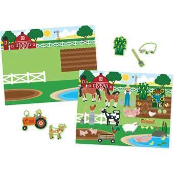MELISSA & DOUG Habitats Reusable Sticker Book - 2