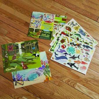 MELISSA & DOUG Habitats Reusable Sticker Book - 5