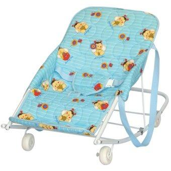 Harga My Dear Baby Rocking Chair With Wheel 19023 Blue