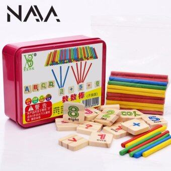 Harga NaVa Children Mathematics Educational Wooden Early LearningCounting Fine Tools