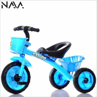 Harga NaVa Children Tricycle with Front & Rear Basket (LIGHT BLUE)