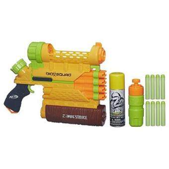 Harga Nerf Zombie Strike Biosquad Zombie Abolisher ZR-800 Blaster(Discontinued by manufacturer)