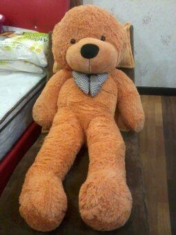 Harga New Giant Huge Cute Teddy Bear 1.6 Meter ( light brown )
