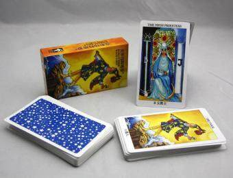 New Radiant Rider Tarot Cards English Version Best Quality BoardGame Playing Cards for Party Cards Game
