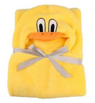 niceEshop 3D Duck Baby Infant Newborn Hooded Bath Towel Blankets - 5