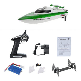 Original Feilun FT009 2.4G 30km/h High Speed RC Racing Boat withWater Cooling Self-righting System - 2