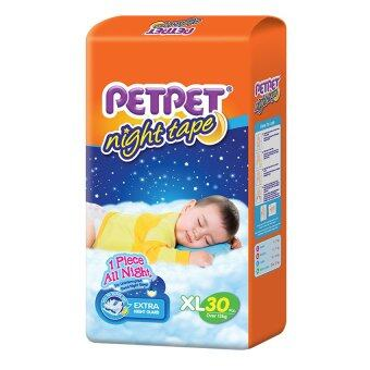 PETPET Night Tape Diaper Jumbo Packs XL30