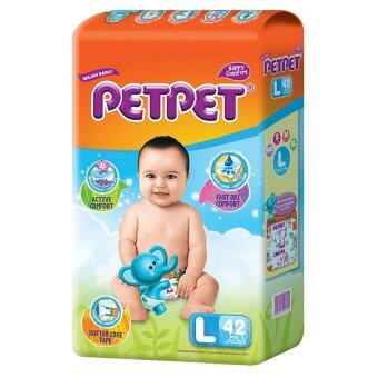 PETPET Tape Diaper Jumbo Packs L42