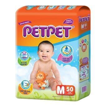 PETPET Tape Diaper Jumbo Packs M50 (3packs)