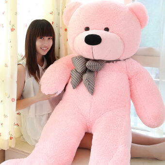 Harga Pink Stuffed Animal Teddy Bear Plush Soft Toy 160CM Huge Soft Toy