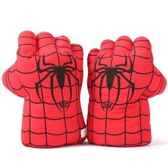 Plush toys boxing gloves children adult green giant Hao g gloveSpider Man doll boy birthday gift