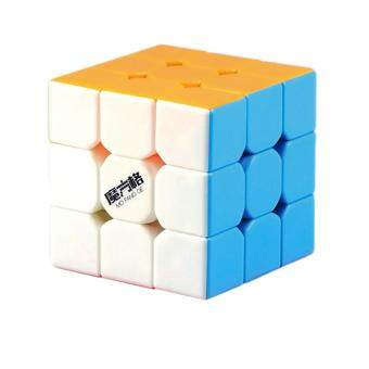 Harga Qiyi MoFangGe Thunderclap 3x3 Speed Cube Smooth Magic Cube Puzzle56mm with Storage Cube Box (Stickerless)