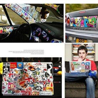 Realeos 50PCS Stickers Skateboard Vintage Laptop Luggage Car phoneSticker (50PCS) - 3