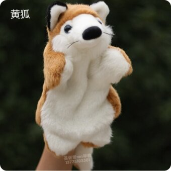 Harga Red Fox mother animal gloves appease plush hand puppet