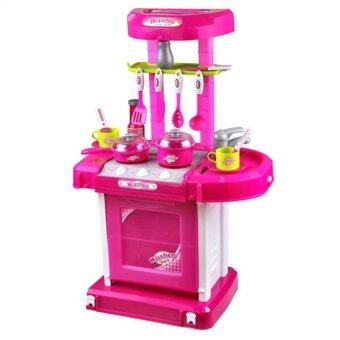 SOKANO Kitchen Playset Pink
