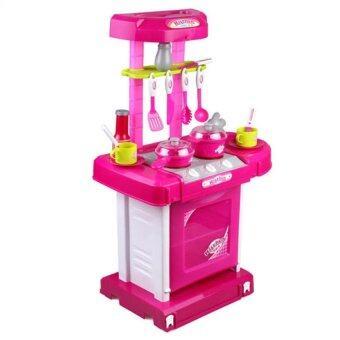 SOKANO Kitchen Playset Pink