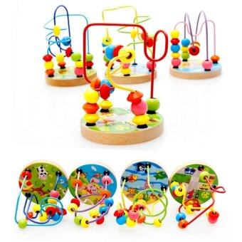 SOKANO Mini Around Beads Wire Maze Educational Game- Random DesignFrom 4 Designs