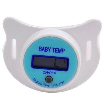 SOKANO Pacifier Nipple Thermometer for Baby and Infant- Blue