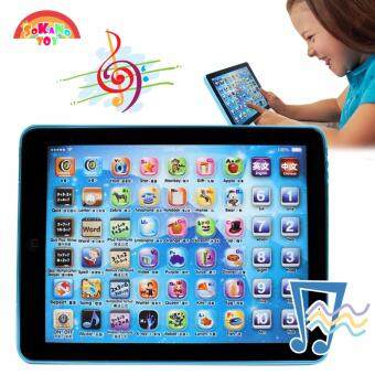 SOKANO TOY Mini Tablet Pad Educational Learning Toy Best Gift For Kid - Blue