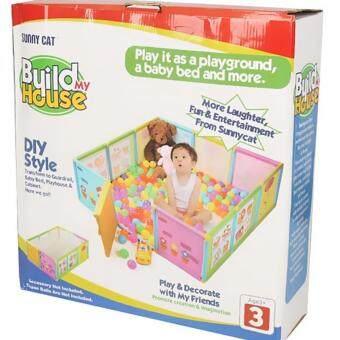 Build My House sunny cat build my house playard fence | lazada malaysia