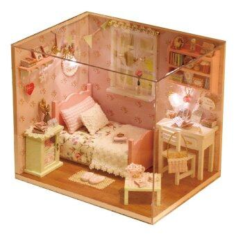 Sunshine Angels with Light/Anti-dust cover DIY Miniature Doll House