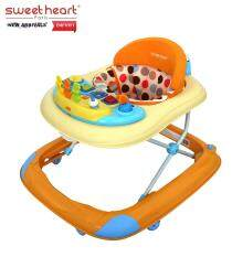Sweet Heart Paris Baby Walker BW1001 Orange