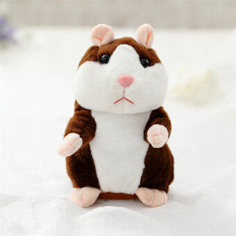 Talking Hamster Mouse Pet Plush Toy Hot Cute Sound Record HamsterEducational Toy for Kids Gift