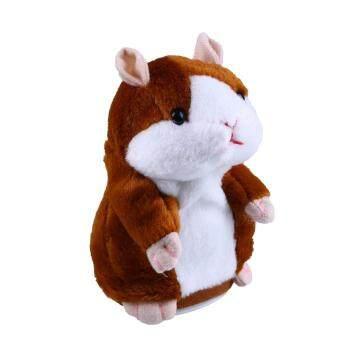 Talking Hamster Speak Talk Sound Record Repeat Stuffed Plush Animal Child Toy - 2
