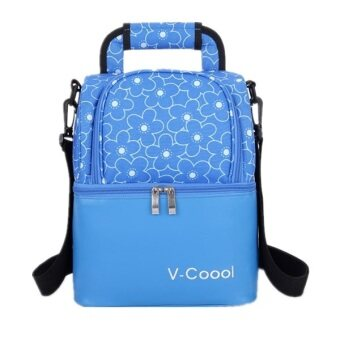 Harga V-Cool New Cooler Bag (Blue)