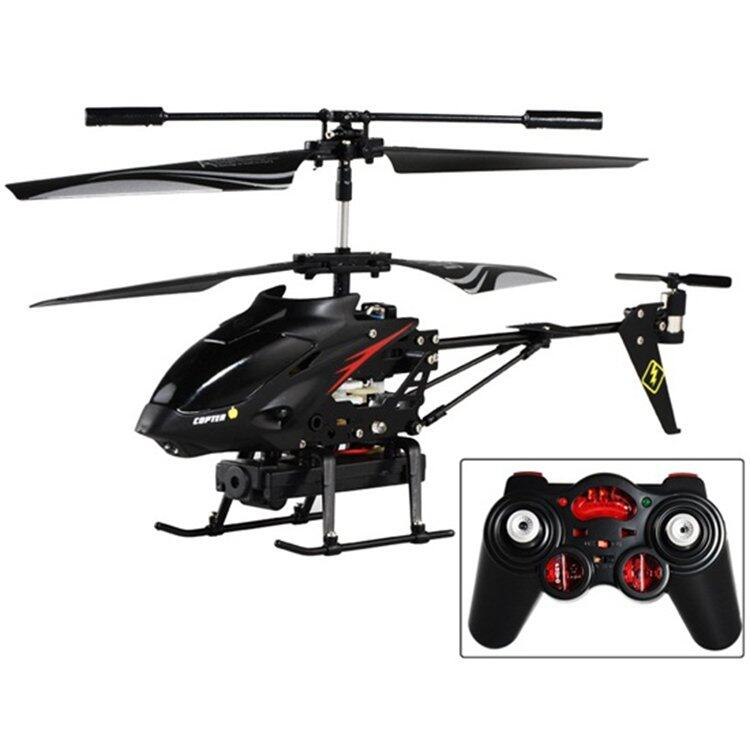 WL S977 3.5 CH Metal Radio Control Gyro RC Helicopter With Video ...