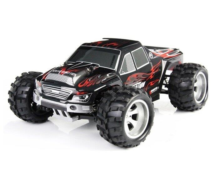 Wltoys Vortex Rc Monster Truck Rc Car Black Lazada