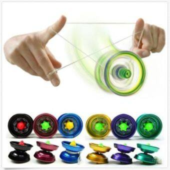 ball yoyo. yoyo ball bearing string trick alloy kids toy yoyo d