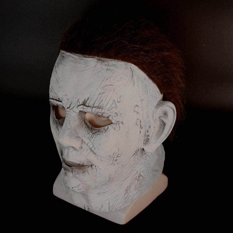116ce2cd Product details of Anilnc Michael Myers Mask Halloween 2018 Horror Movie  Cosplay Adult Latex Full Face Helmet Halloween Party Scary Prop
