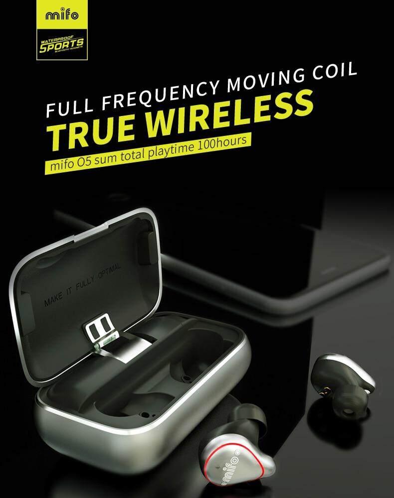(HIFI balanced armature)Original MIFO O5 Pro True Wireless Bluetooth  Earbuds Bluetooth 5 0 Earbuds Wireless headset IPX7 Waterproof earplug  Built-in