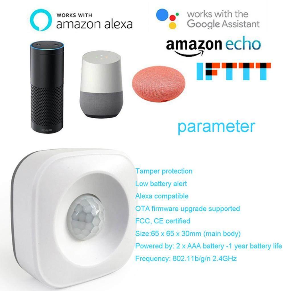 ailsen WIFI PIR Motion Sensor Wireless Passive Infrared Detector Security  Burglar Alarm Sensor Tuya APP Control Smart Home
