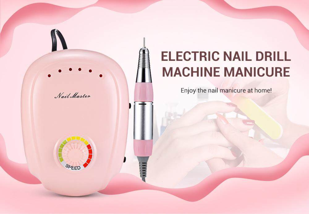 JMD - 303 Multiple Function Electric Nail Art Drill Machine Manicure with High Speed