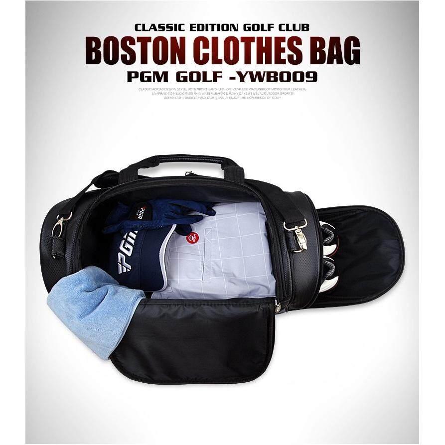 ed25fbd7b335 NEEKO『READY STOCK』PGM Golf Clothes Bag Men PU Ball Package Multi-functional  Clothes Bag
