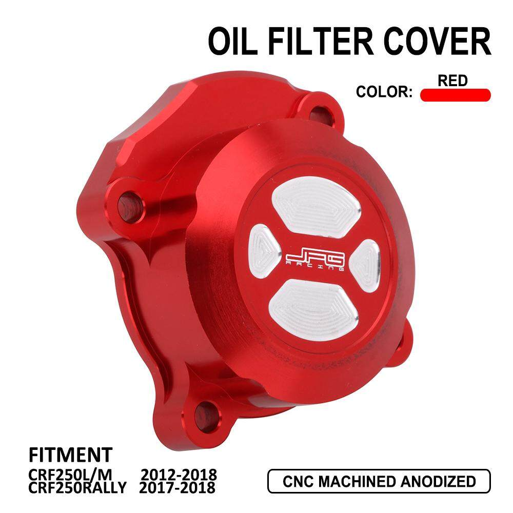 Motorcycle Oil Filter Cover Cap For HONDA CRF250L 2012-2018 CRF250M RALLY  17-18