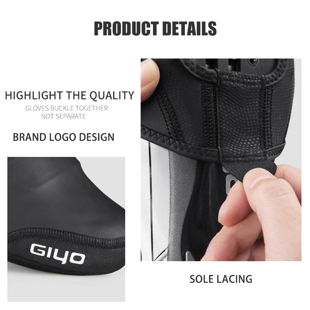 Mountain Road Bike Cycling Toe Cover Bicycle Windproof Thermal Shoe Cover 7E