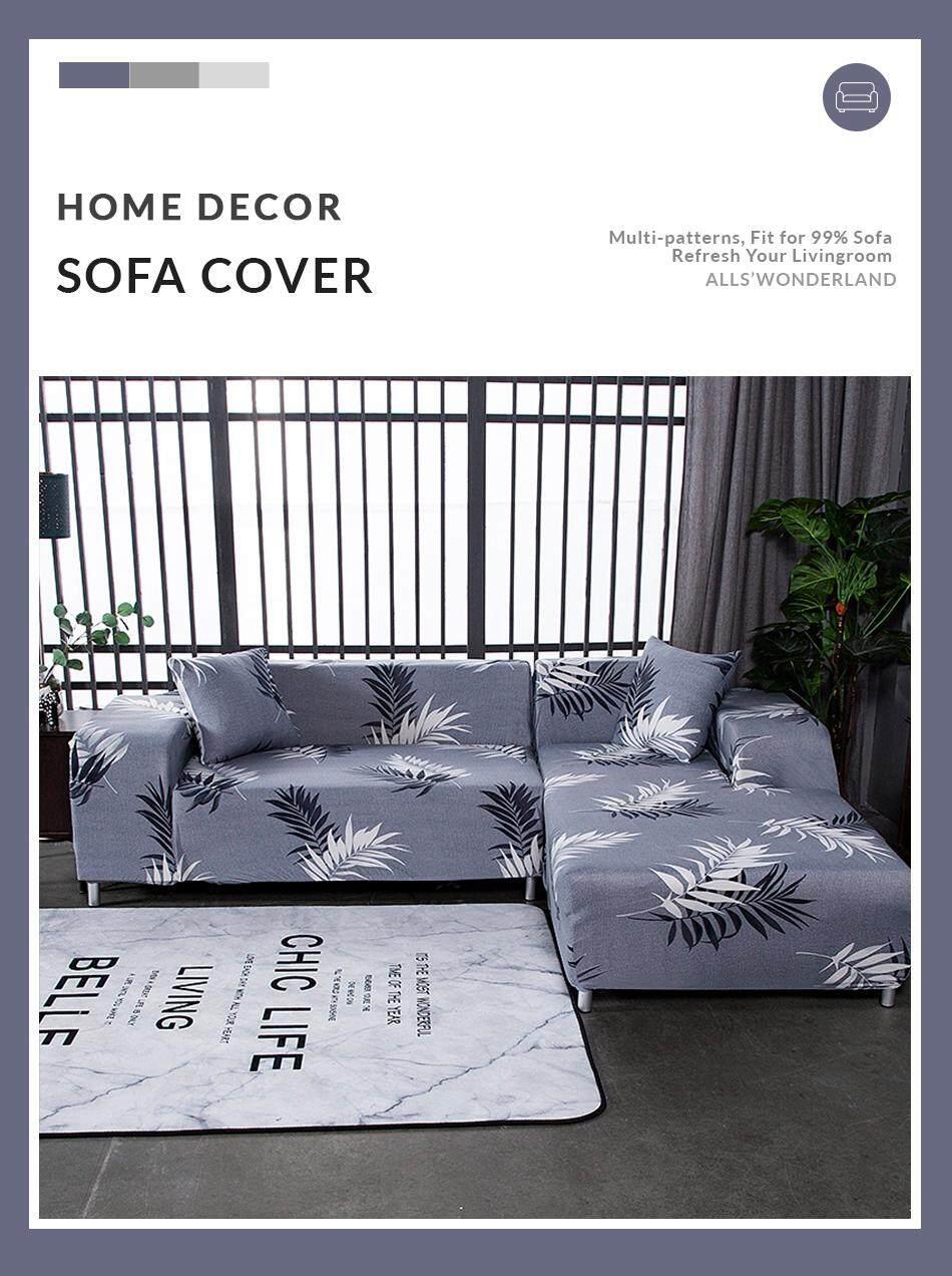 slipcover modern style l shape grey beige color 6 design sofa cover multi sizes i s