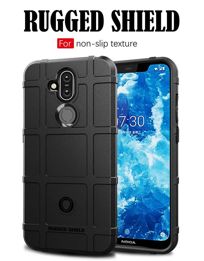 Rugged Shield Back Cover For Nokia 8 1