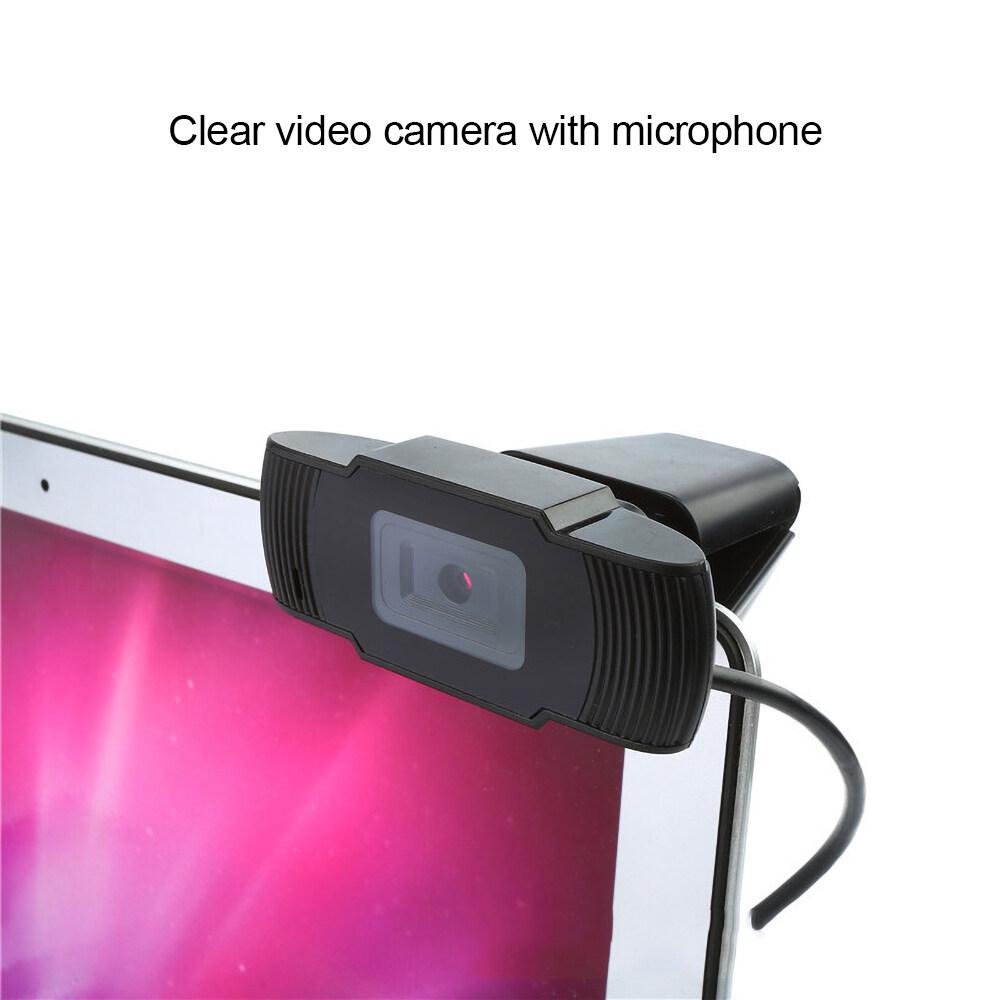 Webcam USB 480P 720P 12.0MP Độ Nét Cao Camera Web 360 Độ Kẹp Xoay-On Webcam Có Micrô Cho Máy Tính Để Bàn 8