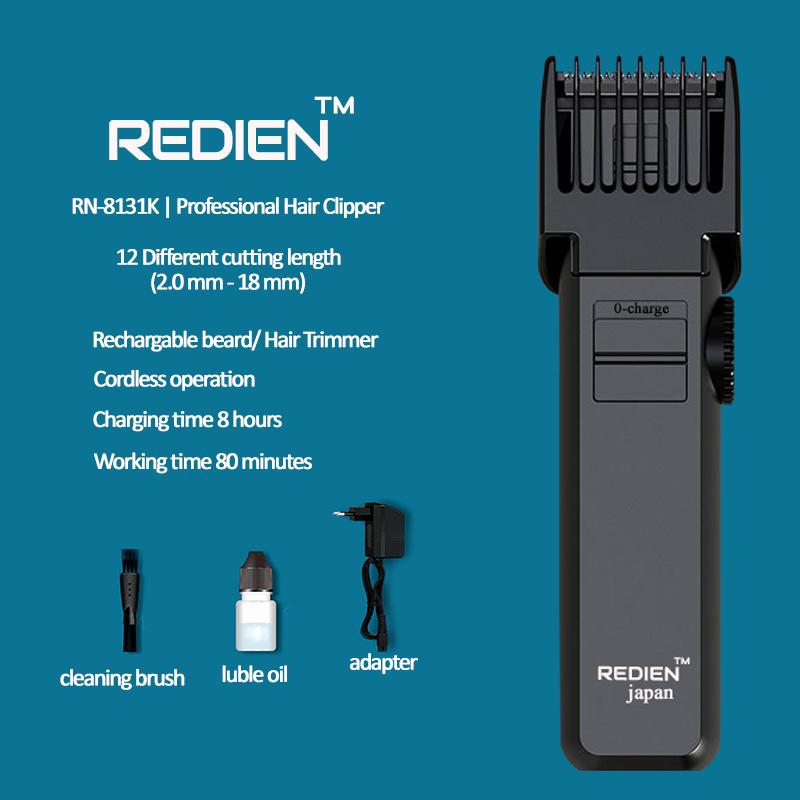 Redien Rn-8131K men's professional hair clipper wit AC/DC function 6