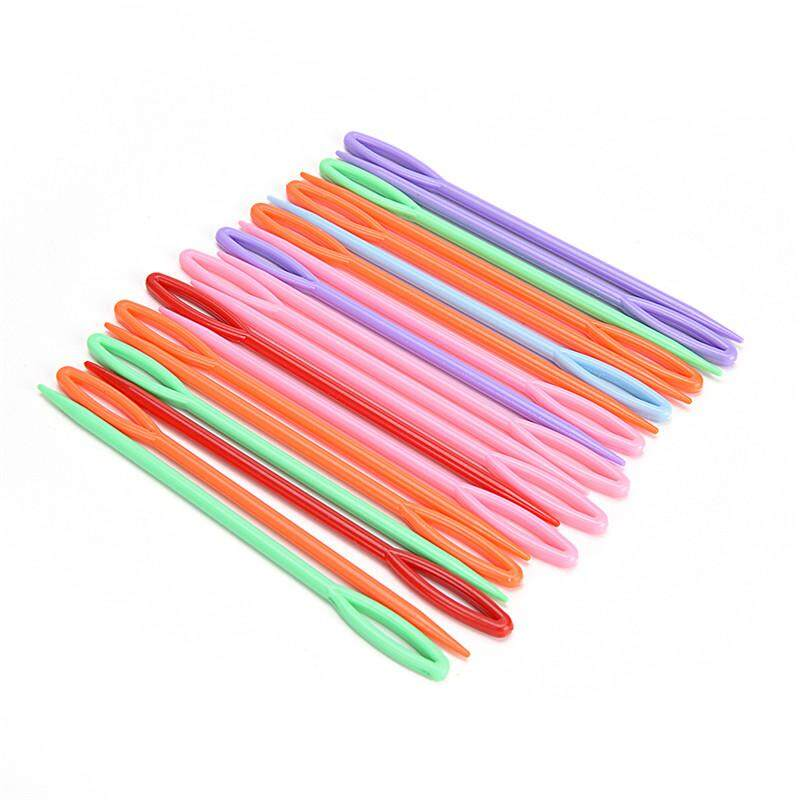 20Pcs Plastic Child Sewing Needles Art Education Knit Crafts DIY Weaving Tool